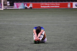Liverpool Ladies 2 Everton Ladies 1, 19/03/2017. Select Security Stadium, SSE FA Cup Fifth Round. A dejected Everton player after the game between Liverpool Ladies v Everton Ladies at The Select Security Stadium, Widnes, in the Women's SSE FA Cup Fifth Round. Photo by Paul Thompson.