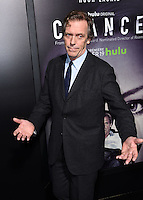 Hugh Laurie @ the HULU premiere of 'Chance' held @ the Harmony Gold. October 17, 2016 , Hollywood, USA. # PREMIERE DE LA SERIE 'CHANCE' A HOLLYWOOD