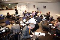 16-12-10, Tennis, Rotterdam, Reaal Tennis Masters 2010, Michaella Krajicek in de perskamer