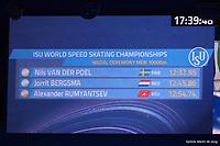 SPEEDSKATING: HEERENVEEN: 14-02-2021, IJsstadion Thialf, ISU World Speed Skating Championships 2021, Nils van der Poel, ©photo Martin de Jong