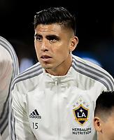 Joe Corona #15 of the Los Angeles Galaxy