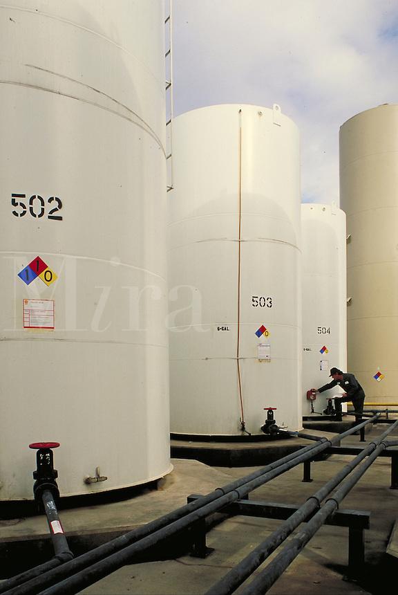 inspection of petroleum storage tanks
