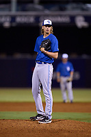 Dunedin Blue Jays pitcher Thomas Ruwe (50) during a game against the Tampa Tarpons on May 7, 2021 at George M. Steinbrenner Field in Tampa, Florida.  (Mike Janes/Four Seam Images)