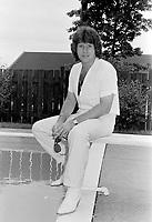 Johnny Farago<br /> en 1981<br /> <br /> Photographe : Jacques Thibault<br /> <br /> - Agence Quebec Presse