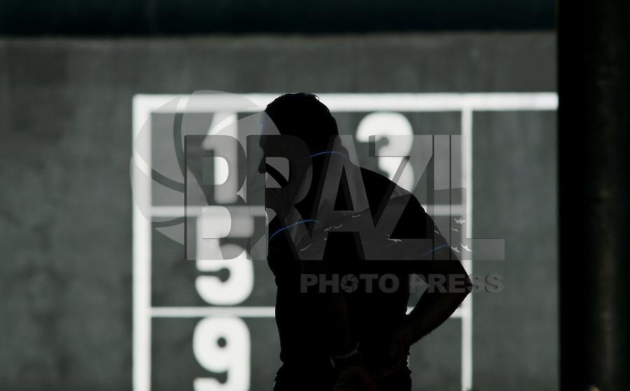 SÃO PAULO,SP, 08 Agosto 2013 - Tite    durante treino do Corinthians no CT Joaquim Grava na zona leste de Sao Paulo, onde o time se prepara  para para enfrentar o Criciuma pelo campeonato brasileiro . FOTO ALAN MORICI - BRAZIL FOTO PRESS