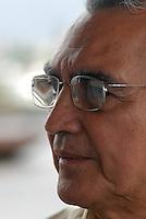 Dr. Walter Wanderley Amoras, 68 anos, especializado em saúde pública, diretor de controle de endemias do estado do Pará, confirma o número de notificações em 4652 casos sendo 32 de dengue hemorrágica com 8 óbitos, diz ainda que pesquisas apontam que para cada caso notificado existem 20 sem o conhecimento da saúde pública. As principais instituições envolvidas na dateção e controle da doença  são o Instituto Evandro Chagas que faz a confirmação do diagnóstico , a secretaria do estado de saúde e o hospital Barros Barreto.<br /> Belé, Pará, Brasil.<br /> 27/04/2007<br /> Foto Paulo Santos/Interfoto