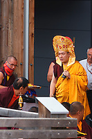 Visite exceptionnelle de Karmapa et consécration de l'Institut