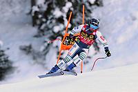 19th December 2020; Saslong, Val Gardena, Tyrol, Italy; International Ski Federation Alpine Ski World Cup, 2nd Men's Downhill, Val Gardena; Martin Cater (SLO)