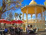 Spanien, Kanarische Inseln, Teneriffa, La Orotava: Strassencafe | Spain, Canary Islands, Tenerife, La Orotava: Cafe