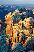 Bear Wallow Canyon from Schnebly Hill<br />   above Sedona<br /> Oak Creek Canyon<br /> Colorado Plateau, Arizona