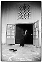 Uzbekistan - Shakhrisabz - Opening of the Jummi mosque for the evening prayer.