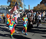 Runners at the start of the 81st running of the Manchester Road Race, Thursday, November 23, 2017, in  Manchester. (Jim Michaud / Journal Inquirer)