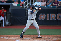 Anthony Seigler (20) of the Hudson Valley Renegades at bat against the Aberdeen IronBirds at Leidos Field at Ripken Stadium on July 23, 2021, in Aberdeen, MD. (Brian Westerholt/Four Seam Images)