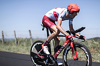 Ilnur Zakarin (RUS/Katusha Alpecin)<br /> <br /> Stage 13: ITT - Pau to Pau (27.2km)<br /> 106th Tour de France 2019 (2.UWT)<br /> <br /> ©kramon