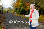Cllr Michael Gleeson on the new cycle path connecting Ross road to Muckross Road in Killarney