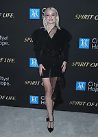 SANTA MONICA, CA - OCT 7:  Zara Larson at the City Of Hope Spirit Of Life Gala 2019 at the Barker Hangar on October 7. 2019 in Santa Monica, California. (Photo by Xavier Collin/PictureGroup)
