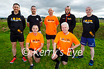 Taking part in the Tralee Born to Run clubs fundraising run in aid of Help Rose Bloom on Saturday morning, kneeling l to r: Kevin Roche and Martin Moore. Back l to r: Tom Foley, Colin Ahern, Mike Brosnan, Maurice Moriarty and Ted Moynihan.