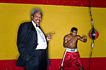 Boxing Promoter Don King photographed for Forbes Magazine on March 27, 2006 at Miami Fight in Miami, Florida