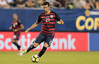 Philadelphia, PA - Wednesday July 19, 2017: Matt Hedges during a 2017 Gold Cup match between the men's national teams of the United States (USA) and El Salvador (SLV) at Lincoln Financial Field.