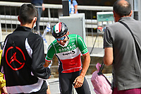 July 12th 2021, Andorre-la-Vielle, France; COLBRELLI Sonny (ITA) of BAHRAIN VICTORIOUS during rest day 2 of the 108th edition of the 2021 Tour de France cycling race on July 12