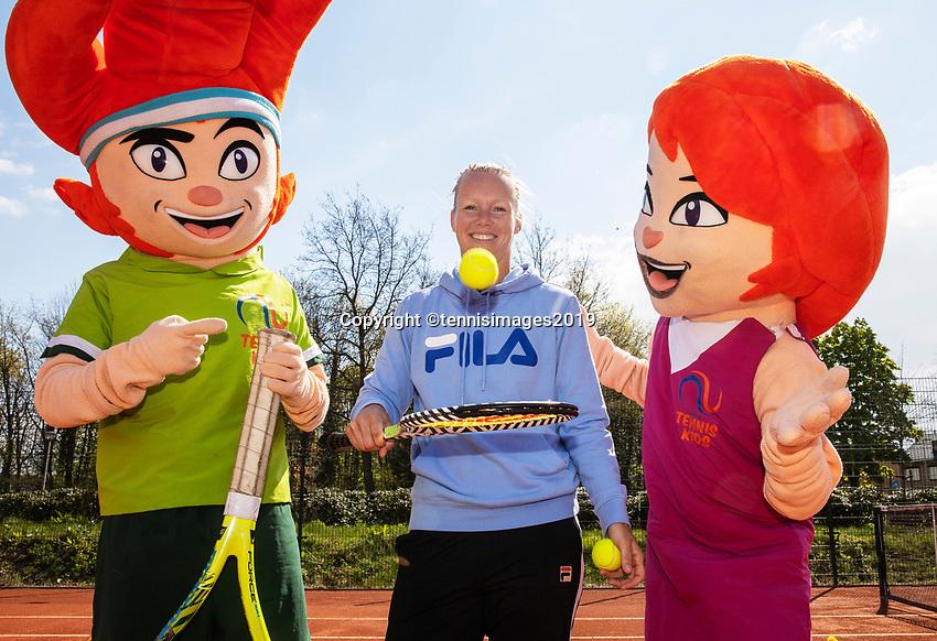 Etten Leur The Netherlands, 12 April 2019, Kiki Bertens ambassador of Dutch tennis association<br /> Photo: www.tennisimages.com/Henk Koster