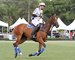 WELLINGTON, FL - APRIL 25:  Matias Torres Zavaleta of Valiente warms up before the match starts. Scenes from the US Open Polo Championship Final, at the International Polo Club Palm Beach, on April 25, 2017 in Wellington, Florida. (Photo by Liz Lamont/Eclipse Sportswire/Getty Images)