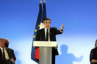 FRANCOIS FILLON - MEETING DE FRANCOIS FILLON A MARSEILLE, FRANCE, LE 11.04.2017.