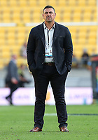 20th March 2021; Wellington, New Zealand;  Chiefs Head Coach Clayton McMillan. Super Rugby Aotearoa. Hurricanes v Chiefs. Sky Stadium, Wellington. Saturday 20th March 2021.