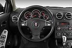 2008 Pontiac G6 Sedan GT Steering wheel Stock Photo