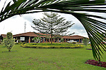 The well-manicured grounds of Kigali District Hospital, Kigali, Rwanda.