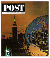 Saturday Evening Post, Worlds Fair, May 23 1964. Cover photo by John G. Zimmerman.