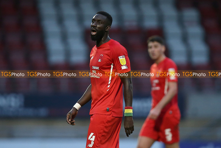 Ousseynou Cisse of Leyton Orient during Leyton Orient vs Harrogate Town, Sky Bet EFL League 2 Football at The Breyer Group Stadium on 21st November 2020