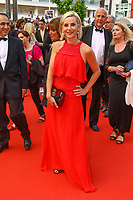 Laurence Ferrari, sur le tapis rouge pour la projection du film TWIN PEAKS, événement pour le 70ème anniversaire, en competition lors du soixante-dixième (70ème) Festival du Film à Cannes, Palais des Festivals et des Congres, Cannes, Sud de la France, jeudi 25 mai 2017. Philippe FARJON / VISUAL Press Agency