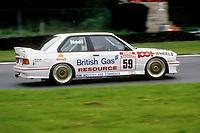 Round 9 of the 1991 British Touring Car Championship. #59 Matt Neal (GBR). BRR Motorsport. BMW M3.