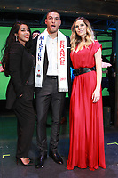 Mister France Eloy Pechier Ayem Nour Clara Morgane - Election de Mister France 2017 au Théatre le Palace - Paris, France - 14/03/2017