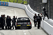 NASCAR Camping World Truck Series <br /> Texas Roadhouse 200<br /> Martinsville Speedway, Martinsville VA USA<br /> Saturday 28 October 2017<br /> Noah Gragson, Switch Toyota Tundra celebrates the win <br /> World Copyright: Scott R LePage<br /> LAT Images<br /> ref: Digital Image lepage-171028-mart-4508