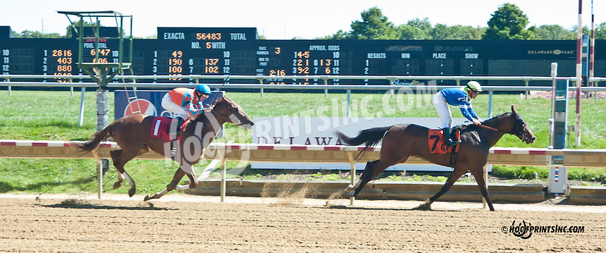 Whattheravenwants winning at Delaware Park on 9/18/13