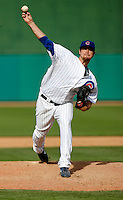 Brian Schlitter - Chicago Cubs - 2009 spring training.Photo by:  Bill Mitchell/Four Seam Images