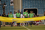 Saudi Arabia vs Qatar during the Olympic Qualifying 2012 Group A stage match on September 21, 2011 at the King Fahd International Stadium in Riyadh, Saudi Arabia. Photo by World Sport Group