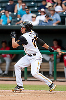 Tim Torres (23) of the Jacksonville Suns during a game vs. the Carolina Mudcats May 31 2010 at Baseball Grounds of Jacksonville in Jacksonville, Florida. Jacksonville won the game against Carolina by the score of 3-2. Photo By Scott Jontes/Four Seam Images