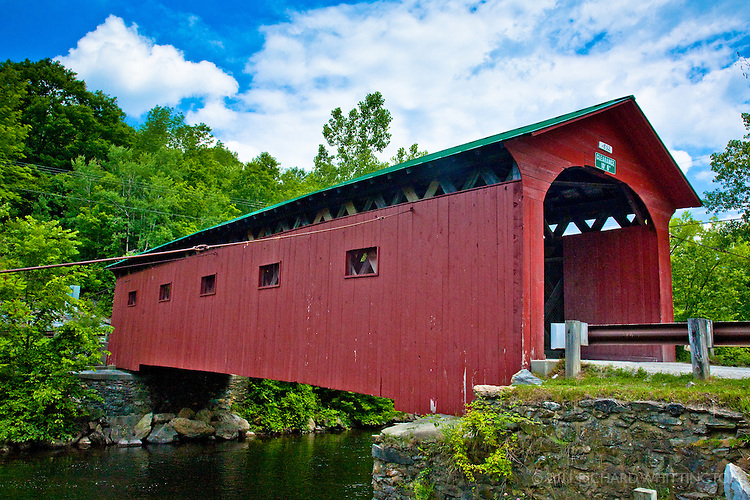This covered bridge over the Battenkill dates from 1852.