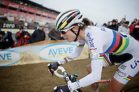 Marianne Vos (NLD/Rabo-Liv)<br /> <br /> Zolder CX UCI World Cup 2014