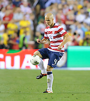Landover, MD - Wednesday, May 30, 2012: Brazil 4-1 over the USMNT during an international friendly at FedEx Field.
