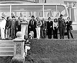 The Beatles 1967 during filming of Magical Mystery Tour at Atlantic Hotel in Newquay, Cornwall.© Chris Walter.