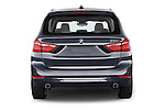 Straight rear view of 2015 BMW 2 Series Gran Tourer Luxury 5 Door Mini Mpv Rear View  stock images