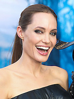 HOLLYWOOD, LOS ANGELES, CA, USA - MAY 28: Actress Angelina Jolie arrives at the World Premiere Of Disney's 'Maleficent' held at the El Capitan Theatre on May 28, 2014 in Hollywood, Los Angeles, California, United States. (Photo by Xavier Collin/Celebrity Monitor)