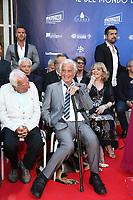 CHARLES GERARD , JEAN PAUL BELMONDO - GARDEN PARTY AU CHATEAU DE LA BUZINE A MARSEILLE - FRANCE , LE 30/06/2017