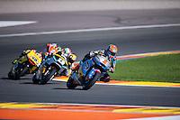 VALENCIA, SPAIN - NOVEMBER 8: Tito Rabat during Valencia MotoGP 2015 at Ricardo Tormo Circuit on November 8, 2015 in Valencia, Spain