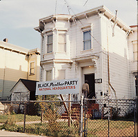 FILE -  black panther party national headquarter in Oakland, California, , circa 1970<br /> Photo : Alain Renaud - Agence Quebec Presse