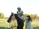 Watch Me Go with Louis Garcia wins The Tampa Bay Debry at Tampa Bay Downs in Oldsmar Fl 3.12.2011.Kathleen O'Connell